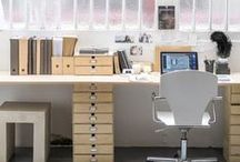 work spaces / the place I spend most of my time. It has to be ME ! / by Valerie Anglade - 2B&Co.