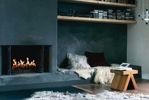 fireplaces / no home without a real fireplace / by Valerie Anglade - 2B&Co.