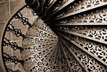 stairways / I like them, heart of a place when needed / by Valerie Anglade - 2B&Co.