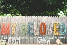 Wedding Day Signage / by Mariah Danielsen | Oh, What Love Studios