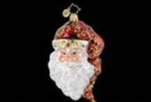 A Visit from St. Nicholas / I collect Santa Claus ornaments and figurines (as well as Christmas ornaments in general).  When we travel, we always purchase an ornament representing our destination, especially if we can find a Santa. / by Faye J. Gibson