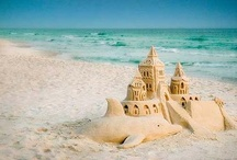 Beachy Keen! / I grew up on the east coast and spent my summers near the ocean.  I love beach scenes! / by Faye J. Gibson