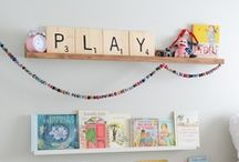 Entertaining the Kiddos: Playroom and Fun ideas