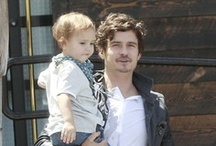 Hot Celebrity Dads / Check out the action heroes and rock stars who know how to prioritize family.
