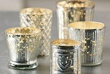 Candle Holders, Vases, and Jars