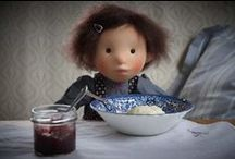 My work: cloth dolls & custom work / Dolls made by Atelier Björkåsa.