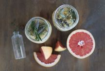 Homemade Cosmetics / We only use natural and organic skincare at home. Some products I buy (I have been using Hauschka and Weleda since I was a teen), others products I make myself, often using the herbs growing in our garden.