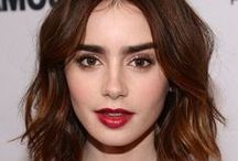 Lily Collins / Lily Collins photos, style, and pins.  Lily Collins movies include: The Blind Side, Abduction, Stuck in Love, Mirror Mirror, and Love, Rosie.