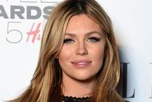 Abbey Clancy / Abbey Clancy photos, hairstyles, fashion, and modeling photoshoots.  Abbey is married to footballer Peter Crouch.  She is a British TV personality and has appeared on Slave to Fashion and The Ultimate Bikini Guide.  Note: sometimes also spelled 'Abby Clancy'.