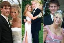 Awkward Celebrity Prom Photos / Ah prom!  There are the uncomfortable first kisses and slow dances, incredibly awesome fashion choices, and, of course, awkwardly-posed date photos.