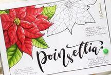 Copic Marker Illustrations by Lisa Krasnova (Cha0tica) / Copic Marker Illustrations by Lisa Krasnova (Cha0tica) in sketchbook. Botanical illustrations, fruits, desserts and travel sketches.