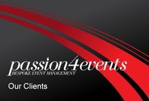 Clients / A selection of the clients we work with across the P4UK.