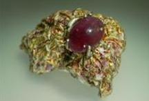 Contemporary Jewelry I love my work... Joyas/Joias/Bijoux...<3 / Contemporary Jewellery by Selma Leal / by Selma Leal