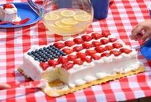 Independence Day / Celebrate America with these fashion trends, free printables, recipies and party ideas!