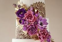 """Radiant Orchid: 2014 Color of the Year / Described as a """"captivating harmony of fuchsia, purple and pink undertones,"""" PANTONE® 18-3224 Radiant Orchid is a lock for wedding look books, pin boards and bridal shops everywhere. / by Botanical PaperWorks"""
