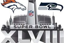 Super Bowl XLVIII: Game Day / Are you ready for some football?