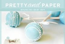 Baby Boy Inspiration / If you're expecting a bouncing baby boy, get inspired by these gift, shower and decorating ideas!