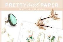 Beautifully Bohemian / Whimsical and enchanting, this Beautifully Bohemian board will give you inspiration on wedding dresses, wedding invitations, fashion and more!
