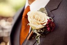 Color Crush - Burnt Orange and Burgundy / Rich and sophisticated, these warm autumn inspired colors compliment each other nicely and will give your wedding a cozy atmosphere for those cool evenings and crisp fall air.