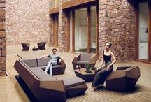 Spanish Design | Outdoor Furniture / #design #gardenfurnishing #gardentables #gardenseating #gardenlounge