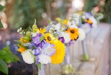Soft Yellow, Lilac + Lavender Wedding Inspiration
