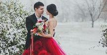 Christmas Wedding Inspiration / Details and ideas to help you plan a festive Christmas wedding.