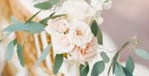 Botanical Beauty Wedding Inspiration / Wedding inspiration for styling a feminine, romantic and warm wedding with soft botanical details for summer soirees.