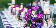 Color Crush - Ultra Violet / Wedding inspiration for Pantone's new Color of the Year for 2018!