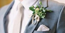 Color Crush - Dove Grey, Greens & Gold / A beautiful blend of greys, ivory and gold tones for a timeless wedding style.
