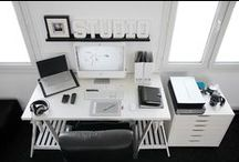 Office Spaces / by Lucy Crafter