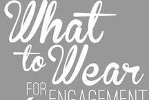 Engagement + Couple Session Clothing