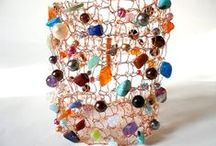 I. M. Wyred Jewellery / Please check out my website: www.etsy.com/shop/imwyred / by Irene McRae