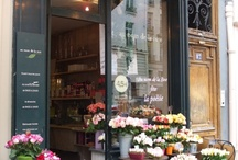 beautiful buildings and boutiques