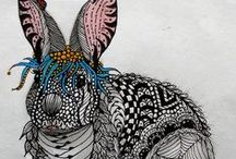 Art - Zentangle  / Art-drawings