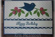 bird cards / birds