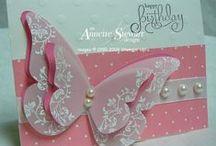 butterfly cards / butterflies