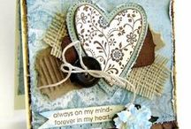 hearts cards / . / by Luella Dueck