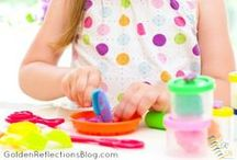 Fine Motor Skills Prek & Up / Fine motor skills and activities for kids ages 3 years and up.  / by Heather G. | Golden Reflections Blog
