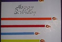 candles cards / . / by Luella Dueck