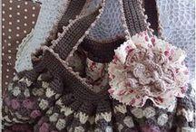 Crochet bags  /  crochet bags, purses etc...