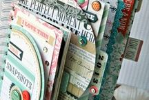 Scrapbooks + Albums / Find the perfect layout for your next scrapbook.  This board has lots of great inspiration for your next scrapbook, baby book, memory book, and other projects that incorporate paper and pictures.