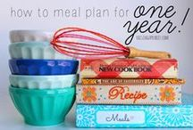 Food- Meal Planning / by Stephanie Plum