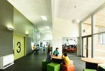 Innovation & Collaboration / Exploring the recent developments in space planning and architecture that supports innovation and collaboration in businesses and schools.