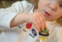 Fine Motor Skills for Toddlers / Fine motor activities that improve hand strengthening, finger dexterity and visual motor skills for toddlers, ages 18 months to 3 years old.