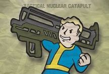 Fallout / Posters, t-shirts, hoodies and everything else inspired by one of the greatest open world video game series: Fallout.