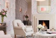 Silver Serenity Collection / An elegant collection with the subtle allure of flowers. Modern romance blooms when neutral palettes are fused with pink. This look comes together swimmingly with a hint of silver and the arrival of swans. / by Laura Ashley USA