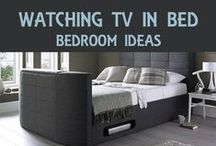 TV In Bed / Watching TV in bed. Ideas and designs