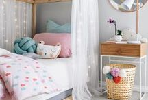 Kidsroom / Everything for my little girls! Girlsroom, hide-out, playroom, kidsroom, kids, colours.