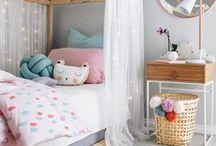 Kidsroom / Everything for my little girls! Girlsroom, hide-out, playroom, kidsroom, kids, colours.