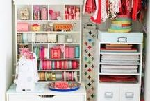 Girly Home Office ideas / by Angelina Qtimporta